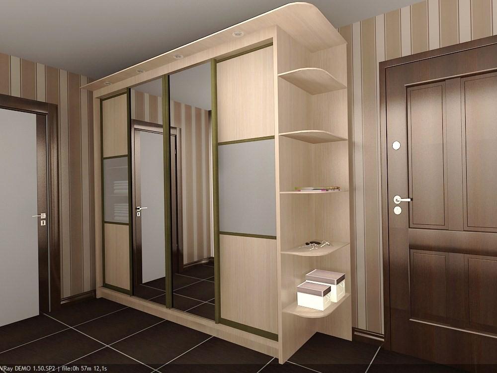 Шкафы-купе корпусные